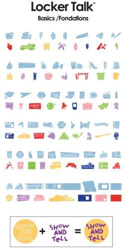 Cricut 29-0289 Locker Talk Shape Cartridge