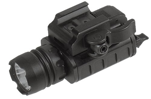 UTG Tactical Pistol Flashlight with 23mm CREE LED IRB and Lever Lock Integral QD Mount