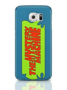 PosterGuy The Mystery Machine (Blue) Typography Samsung Galaxy S6