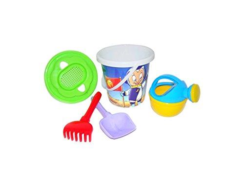 Trampoliere Bucket / Girasole Sieve / Spade / Rastrello e annaffiatoio Set (Small)