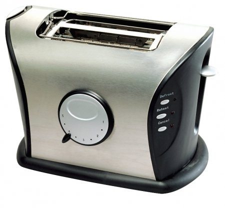 Frigidaire Fd3111 2-Slice Stainless Steel Wide Slot Toaster, 220 Volts