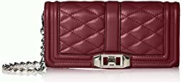 Rebecca Minkoff Mini Love Clutch, Port, One Size