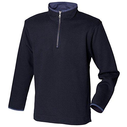 mens-front-row-super-soft-touch-1-4-quarter-zip-sweatshirt-navy-l