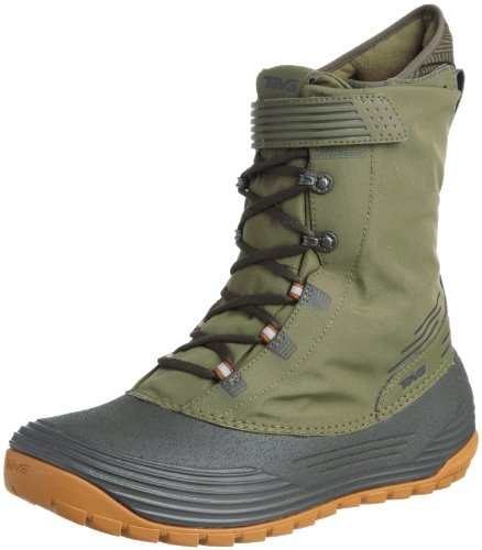 Teva Mens Chair 5 Print WP M's Snow Boots Green Grün (green 744) Size: 10.5 (44.5 EU)