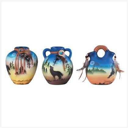 Southwestern Vase Set