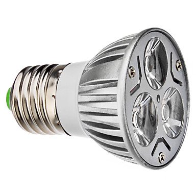 E27 3.5W 220-250Lm 6000-6500K Natural White Light Led Spot Bulb (230V, Set Of 10)