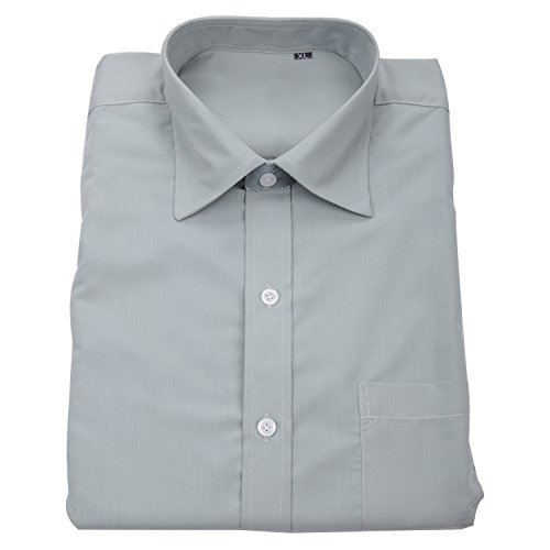Double F Men cotton grey formal shirts