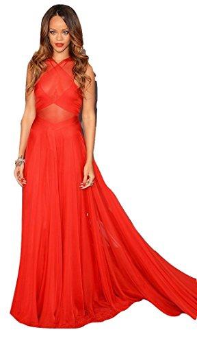 celebrity-mesh-maxi-vestito-abito-da-sera-prom-cruise-cocktail-rosso-taglia-m-uk-10-12-eu-38-40