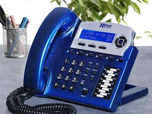 New Xblue Networks Xblue Speakerphone Vivid Blue Auto Attendant Easy Read Interactive Lcd Display