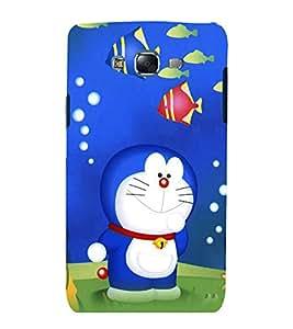 printtech Doraemon Cartoon Back Case Cover for Samsung Galaxy E7 / Samsung Galaxy E7 E700F