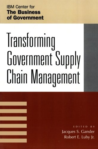 Transforming Government Supply Chain Management (Ibm Center For The Business Of Government) front-1004419