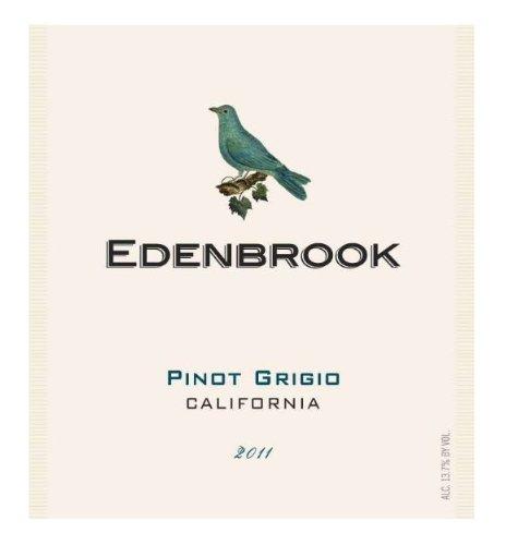 2011 Edenbrook Pinot Grigio, California 750 Ml