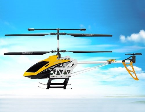 SongYang TOYS 8088-43 3.5-Channel Alloy RC Helicopter (Yellow)