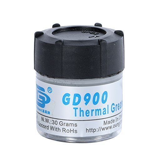 Edal 30g Grey GD900 Thermal Grease Paste Silicone Warmth Sink Compound