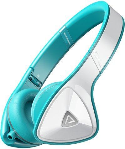 Monster DNA Headphones (White/Teal)