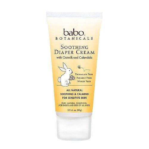 Babo Botanicals Soothing Diaper Cream 3 Oz (85 G)