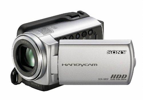 Sony - Handycam DCR-SR37E - Camcorder - Widescreen Video Capture - 800 Kpix - optical zoom: 60 x - HDD : 60 GB - flash card