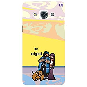 Be Original - Mobile Back Case Cover For Samsung Galaxy J3 Pro