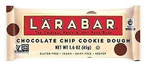 Larabar Gluten Free Fruit & Nut Food Bar, Chocolate Chip Cookie Dough, 16 - 1.6 Ounce Bars