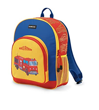 Crocodile Creek Toddler Backpack Fire Truck