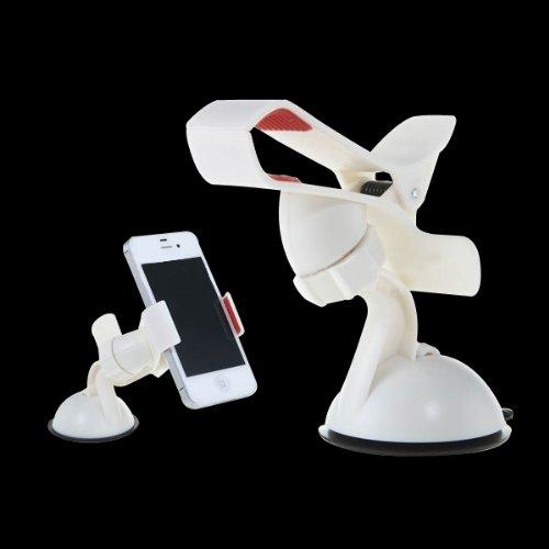 White 360 Degrees Rotatable Stand Holder For Iphone 4 5 Cellphone Tablet Ddstore