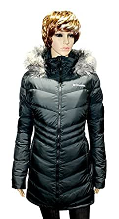 COLUMBIA WOMENS' POLAR FREEZE DOWN JACKET OMNI HEAT WINTER