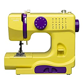 Janome Citrus Circus Basic, Easy-to-Use, 10-Stitch Portable, Compact Sewing Machine with Free Arm only 5 pounds