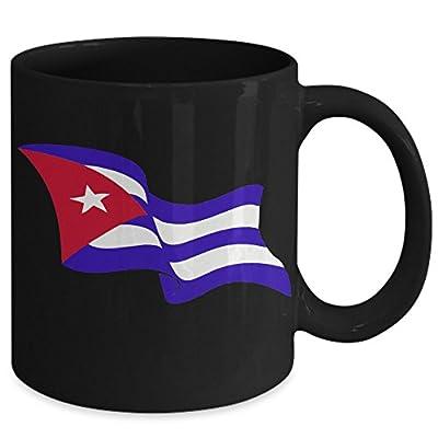 Cuba Flag Mug - Windy Blowing Patriotic Cuban Flag Coffee Cup