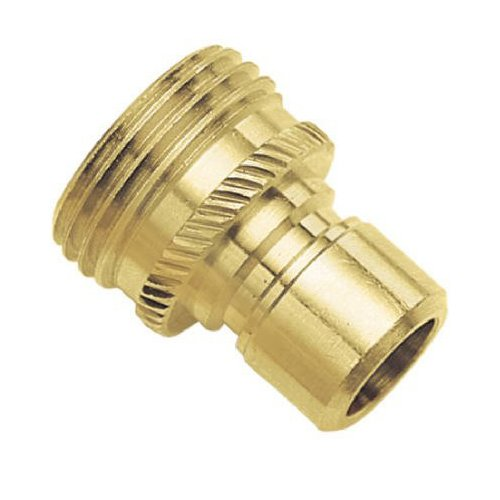 09QCMGT Green Thumb Brass Male Connector for Hose (Male Male Hose Connector compare prices)