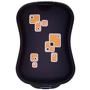 B&W XS.Case Universal-Etui (wasserdicht, bruchfest) für Kompaktkameras, Handys, MP3-Player schwarz retro