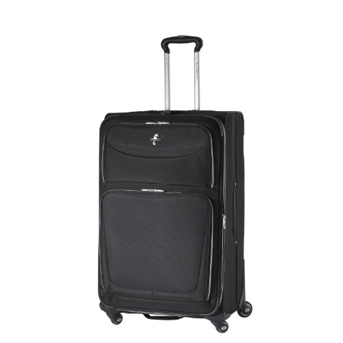 Atlantic Luggage Luggage COMPASS 2 29-Inch Expandable Upright Spinner Suiter, Black, One Size best seller