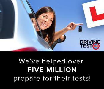 Driving Test Success has helped over 5 MILLION learners prepare for their tests