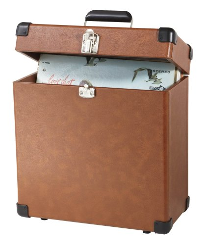 Crosley CR401-TA Record Case Carrier for 30+ Albums