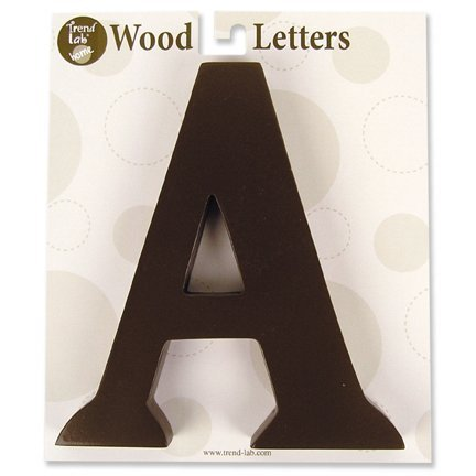 "Trend Lab Brown 6"" Tall Letter, Letter N by Trend Lab"