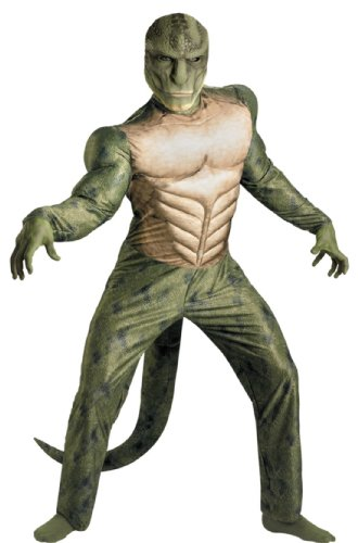 Lizard Classic Muscle Adult Costume 50-52 Adult Mens Costume