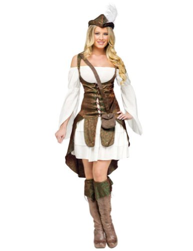 Robin Hood Adult Costume Sm 4-6 Halloween Costume