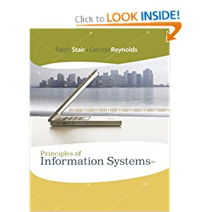 Principles of Information Systems - Ralph Stair