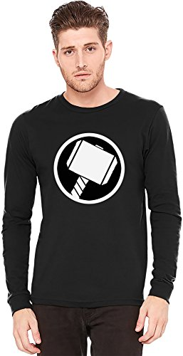 Thor's Hammer A maniche lunghe T-shirt Long-Sleeve T-shirt | 100% Preshrunk Jersey Cotton XX-Large