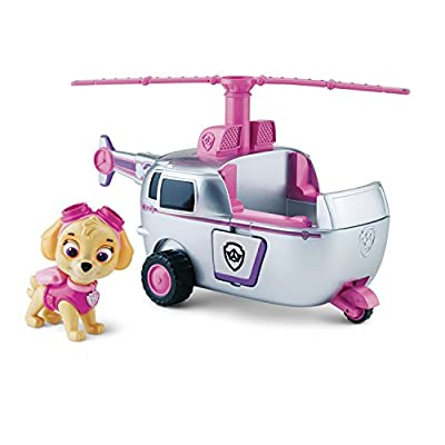 Paw Patrol Figurine Animation Paw Patrol Vehicle - Skye High Flyin Copter