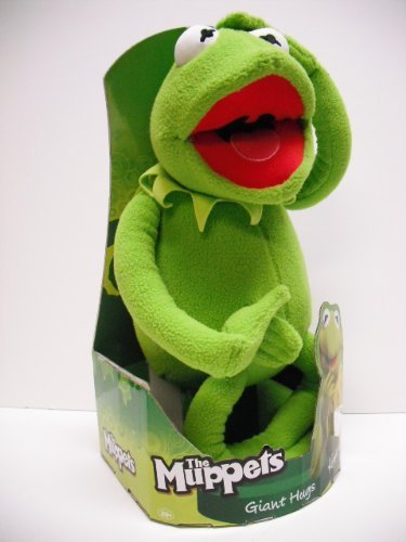 "The Muppets 20"" Kermit The Frog Giant Hugs Plush Doll front-311894"