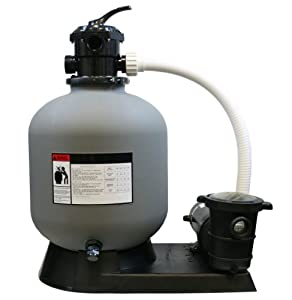 3700gph 16 Sand Filter With 1hp Above Ground