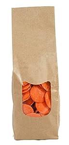 Cake Company Bunte Fettglasur für Cake Pops orange 1er Pack (1 x 380 g)