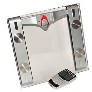 Hemingweigh digital bathroom scale with body fat monitor for Big w bathroom scales