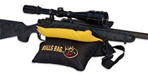 "BULLS BAG (Rocky Mt. Elk Foundation) Limited Edition #16012-RMEF Field Black-Gold/Tuff-Tec 10"" (Unfilled) Tactical Rifle Shooting Rest"