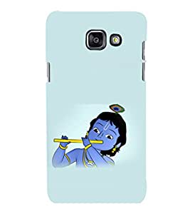 printtech Lord God Krishna Small Cartoon Back Case Cover for Samsung Galaxy A7 2016 Edition