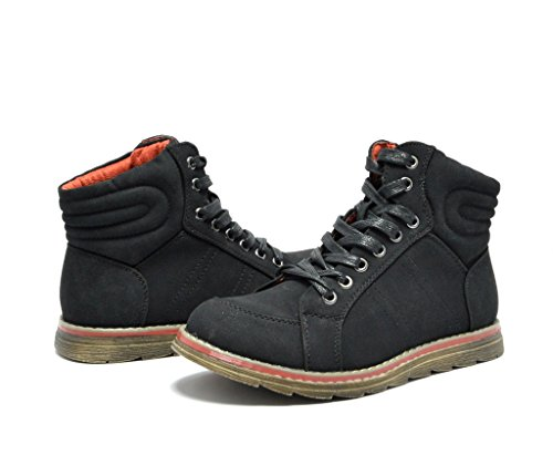 Dream Pairs Tiger-12 Women's Distressed Lace-Up Bootie Boots New Lady