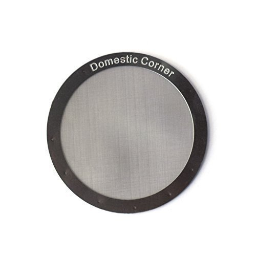 Domestic Corner - Reusable Stainless Steel Filter for AeroPress Coffee and Espresso Maker made ...