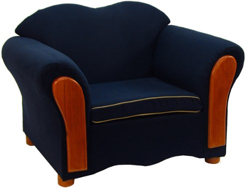Fantasy Furniture Homey VIP Chair, Navy