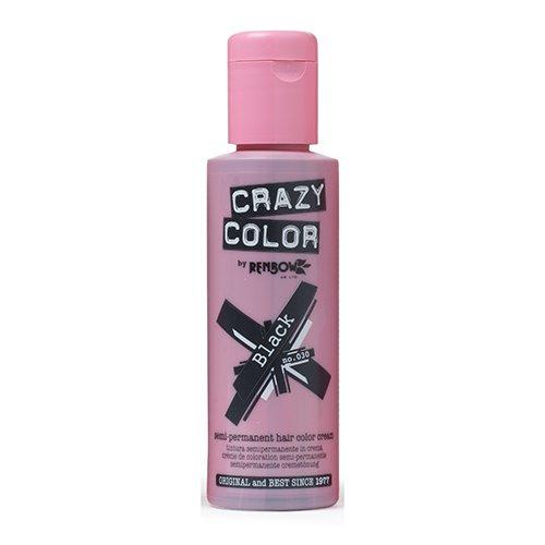 renbow-crazy-color-semi-permanent-hair-color-cream-black-no30-100ml