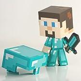 Minecraft(マインクラフト) ダイアモンド・スティーブ フィギュア ミニダイヤソード付属